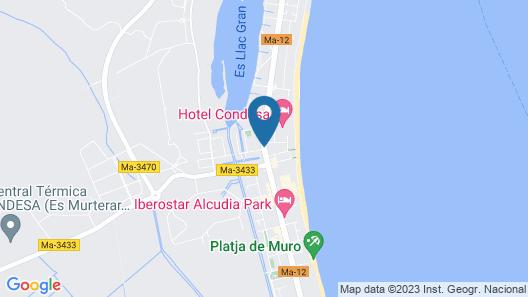Grupotel Maritimo Map