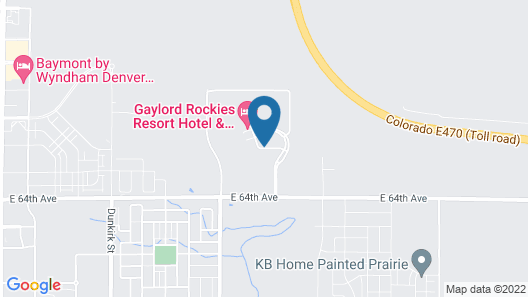 Gaylord Rockies Resort & Convention Center Map