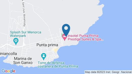 Insotel Punta Prima Resort & Spa - All Inclusive Map