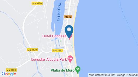 Hotel Condesa Map