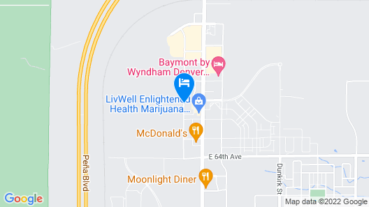 Wingate by Wyndham Denver Airport Map