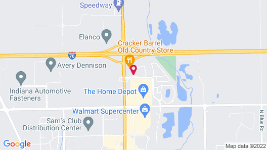 Holiday Inn Express & Suites Greenfield Map