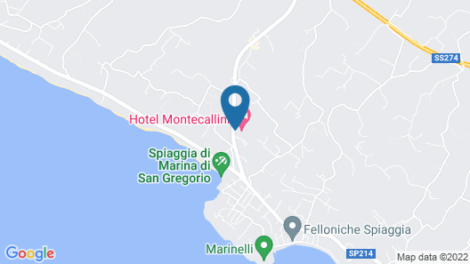 Montecallini Hotel Map