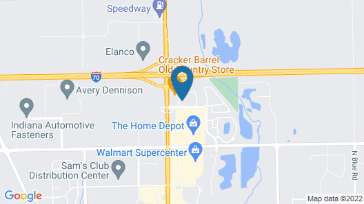 Holiday Inn Express & Suites Greenfield, an IHG Hotel Map