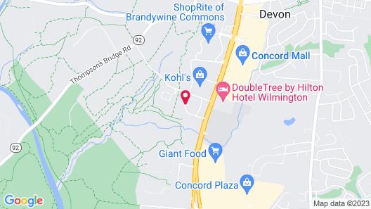 Homewood Suites by Hilton WilmingtonBrandywine Valley Map