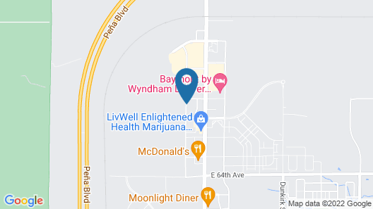 SpringHill Suites by Marriott Denver Airport Map