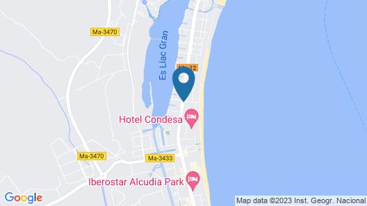 Hotel Ivory Playa Sports & Spa Map