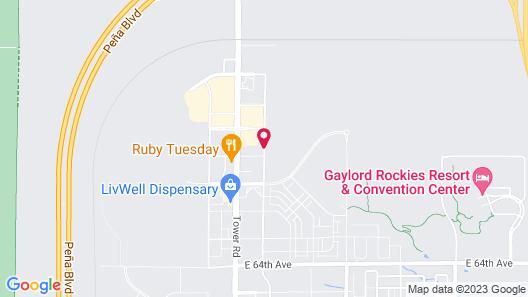 Baymont by Wyndham Denver International Airport Map