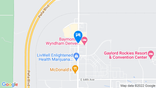 La Quinta Inn & Suites by Wyndham Denver Airport DIA Map