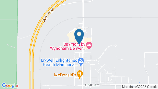 Fairfield Inn and Suites by Marriott Denver Airport Map