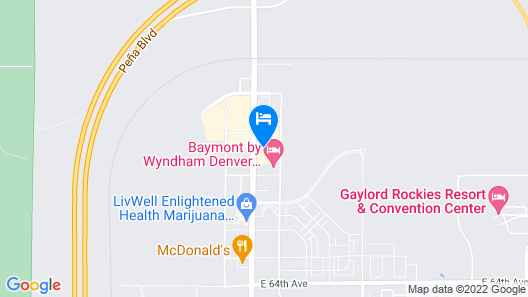 Quality Inn & Suites Denver International Airport Map
