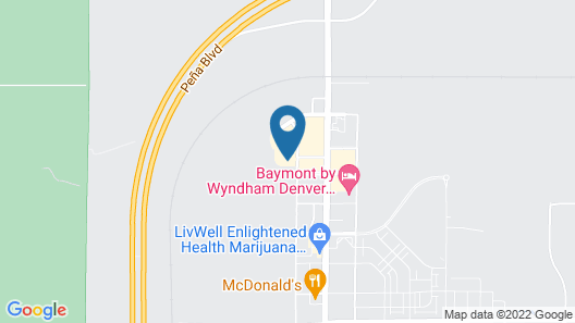 Tru by Hilton Denver Airport Tower Road Map