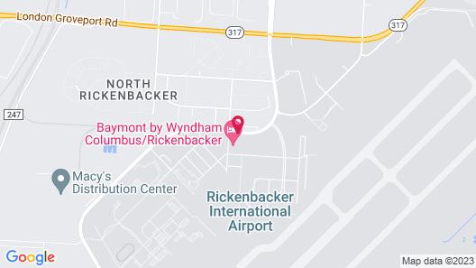 Baymont by Wyndham Columbus/Rickenbacker Map