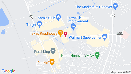 Holiday Inn Express Hanover, an IHG Hotel Map