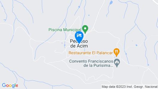 Cabaña El Mirador Map