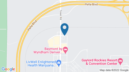Days Inn & Suites by Wyndham Denver International Airport Map