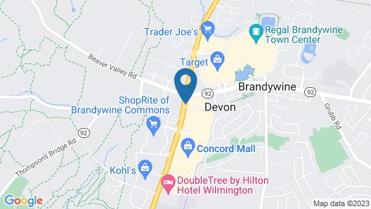 Days Inn by Wyndham Wilmington/Newark Map
