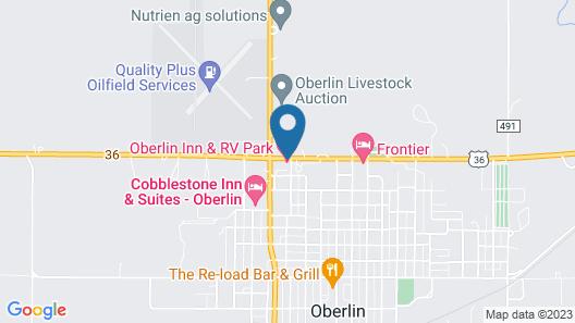 Oberlin Inn Map