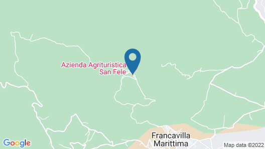 Agriturismo San Fele Map