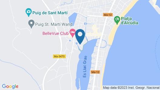 BelleVue Club Resort Map
