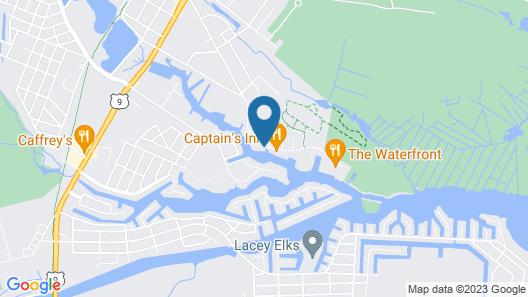 Inn at Rivers Edge Marina Map