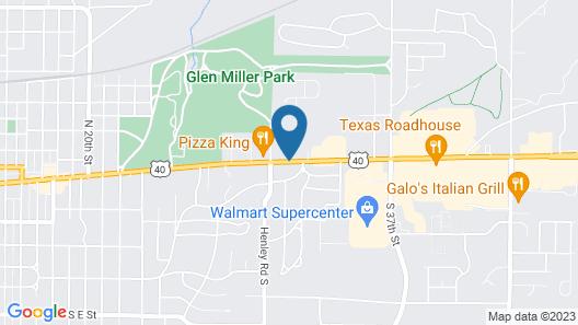 Richmond Inn & Suites Map