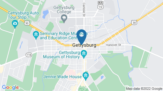 James Gettys Hotel Map