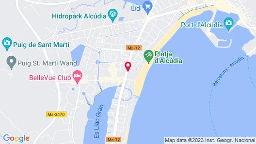 Iberostar Ciudad Blanca Map