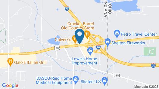 Home2 Suites by Hilton Richmond Map