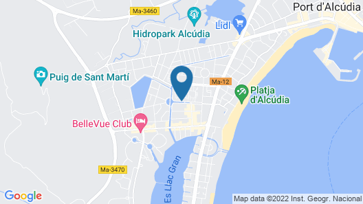 Seaclub Mediterranean Resort Map