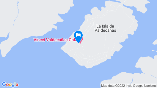 Vincci Valdecañas Golf Map