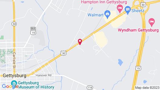 Days Inn by Wyndham Gettysburg Map