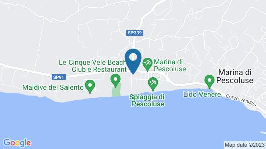 Gigli Hotel Salento Map