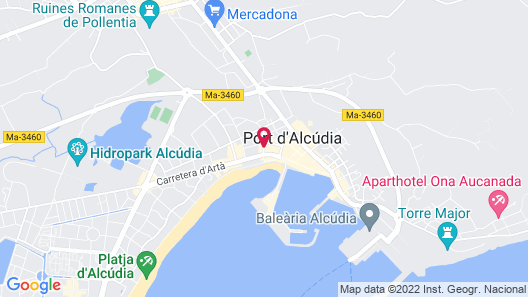 Caprice Alcudia Port Map