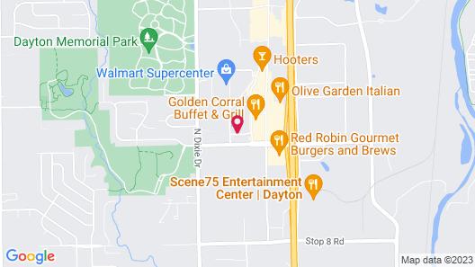 Home2 Suites by Hilton Dayton Vandalia Map
