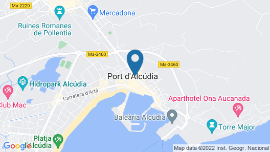 Blue Sea Piscis - Adults Only Map