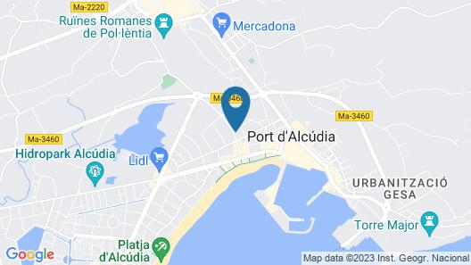 Bahia de Alcudia Hotel & Spa Map