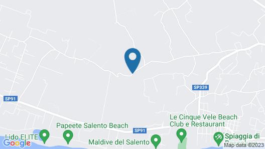 Relais Masseria Sant'Antonio Map
