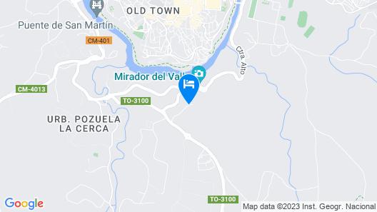 Parador de Toledo Map