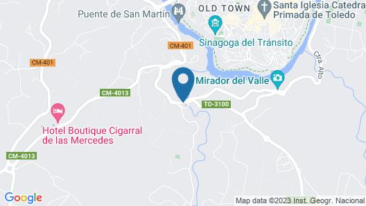 Hotel Los Cigarrales Map