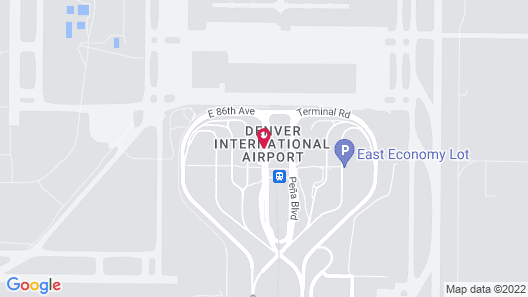 The Westin Denver International Airport Map