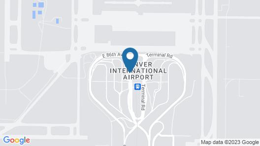 The Westin Denver International Airport Map