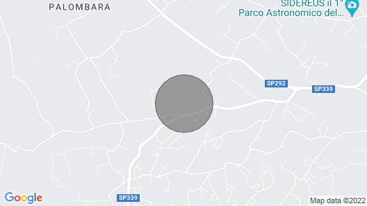 New Nice Small Flat Over the sea of Pescoluse in the Marvellous Salento Map