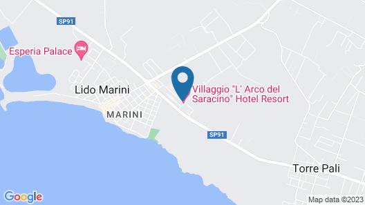 L'Arco del Saracino Map
