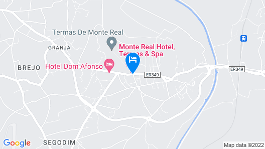 Palace Hotel Monte Real Map