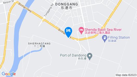 Shenda Seariver Hotel - Donggang Map