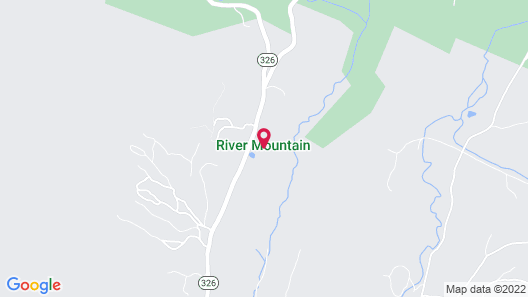 River Mountain Map