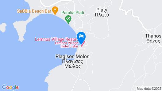Lemnos Village Resort Map