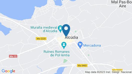 FORUM Boutique hotel & spa Map
