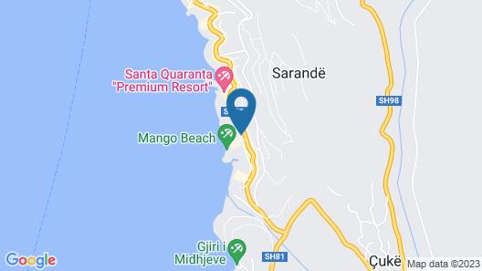 Seaside Saranda Map